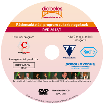Diabetes – Páciensoktatási program DVD kiadás 2.